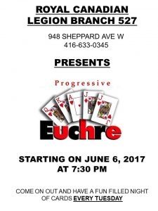 Tuesday Night Euchre